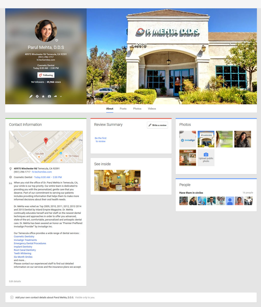 Dentis Marketing Temecula, California