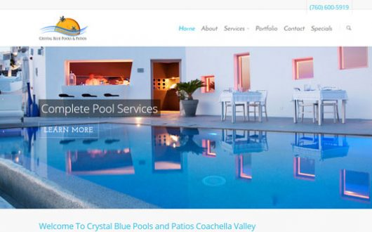 Crystal Blue Pools & Patios