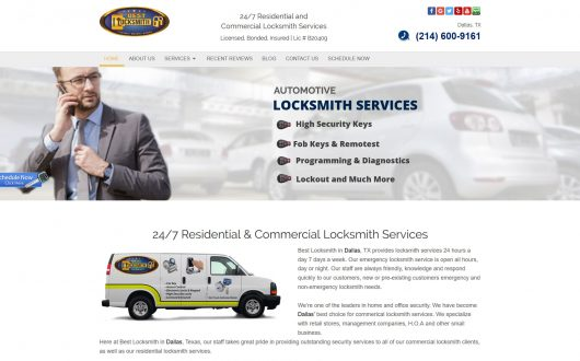 Best Locksmith Dallas, Texas
