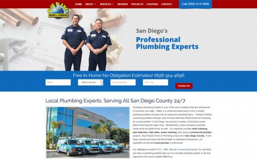 Blue Planet Drains and Plumbing