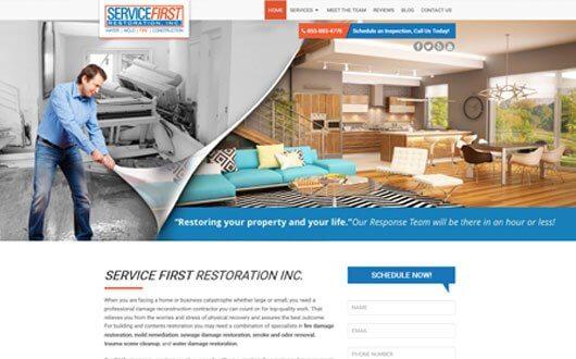 Service First Restoration